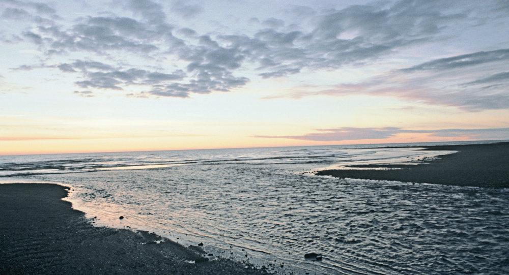 la mer d'Okhotsk (image d'illustration)