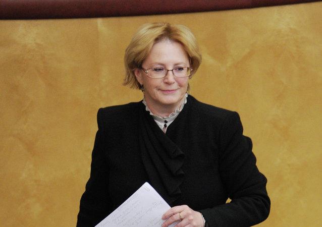 Ministre russe de la Santé Veronika Skvortsova