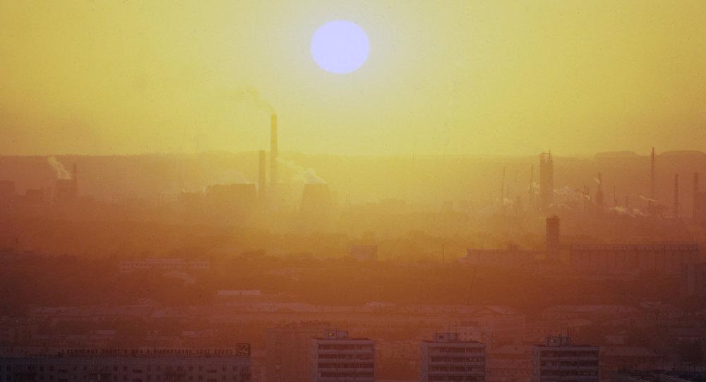 Smog dans la région de Kemerovo