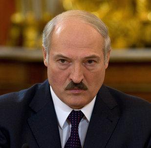 Le président Alexandre Loukachenko