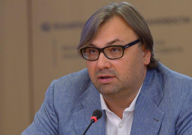 Timofeï Sergueïtsev, membre du Club Zinoviev de Rossiya Segodnya