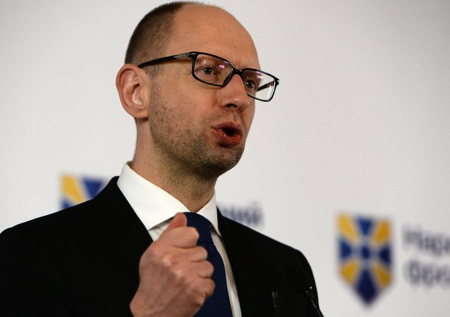 Premier ministre ukrainien Arseni Iatseniouk