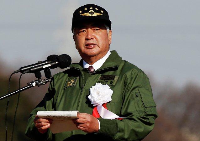 Le ministre japonais de la Défense Gen Nakatani