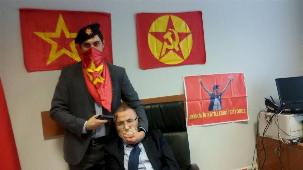 Le procureur turc Mehmet Selim Kiraz, pris en otage mardi par des hommes armés dans le Palais de la justice d'Istanbul