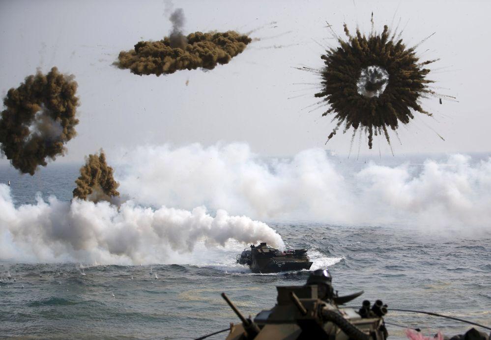 L'armée sud-coréenne mène des manoeuvres d'envergure baptisés Jeune aigle du 2 mars au 24 avril