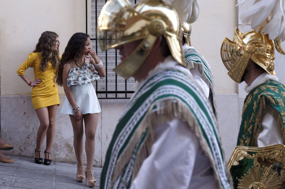 La Semana Santa (Semaine sainte) se fête en grandes pompes en Espagne où les festivités commencent le jour des Rameaux et finissent à Pâques