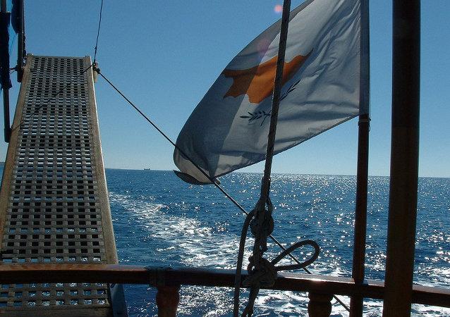 Le drapeau de la Chypre