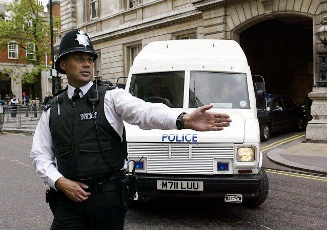 policier britannique