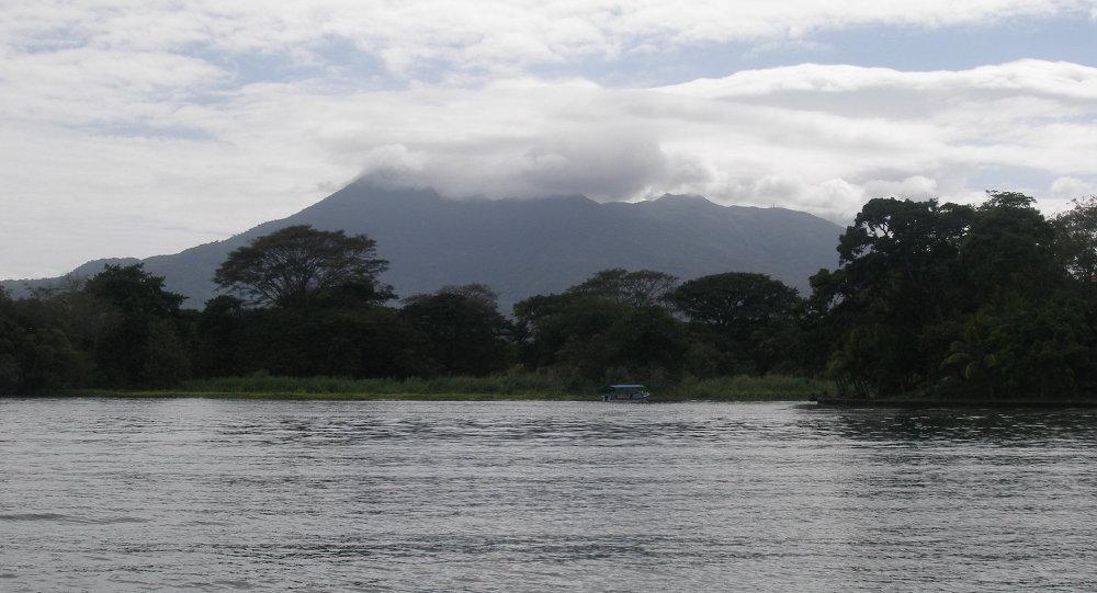 Сanal interocéanique du Nicaragua. Archive photo
