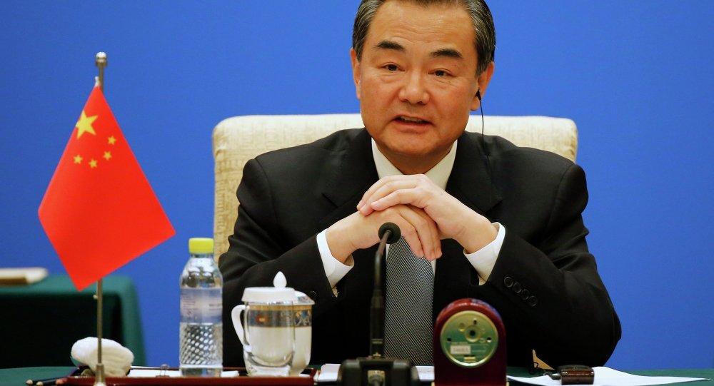 Chef de la diplomatie chinoise Wang Yi