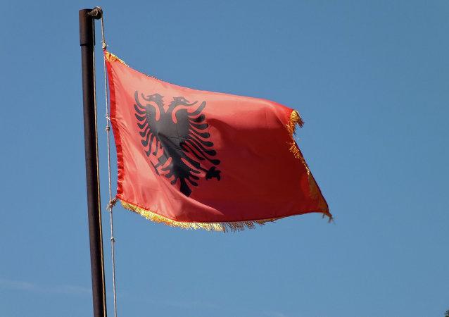 Drapeau albanais