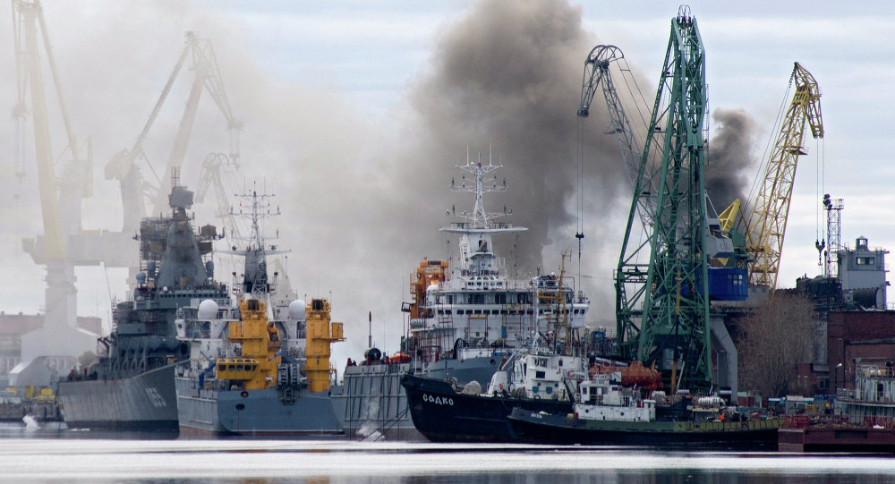 Incendie à bord du sous-marin nucléaire russe Orel
