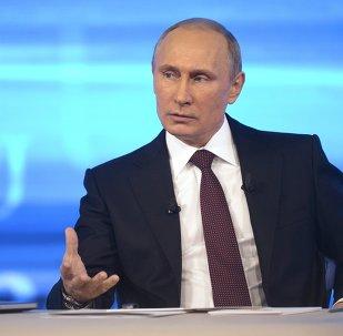 Ligne directe avec Vladimir Poutine. Archives