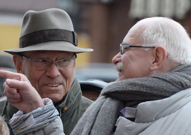 Réalisateurs Nikita Mikhalkov et Andreï Kontchalovski