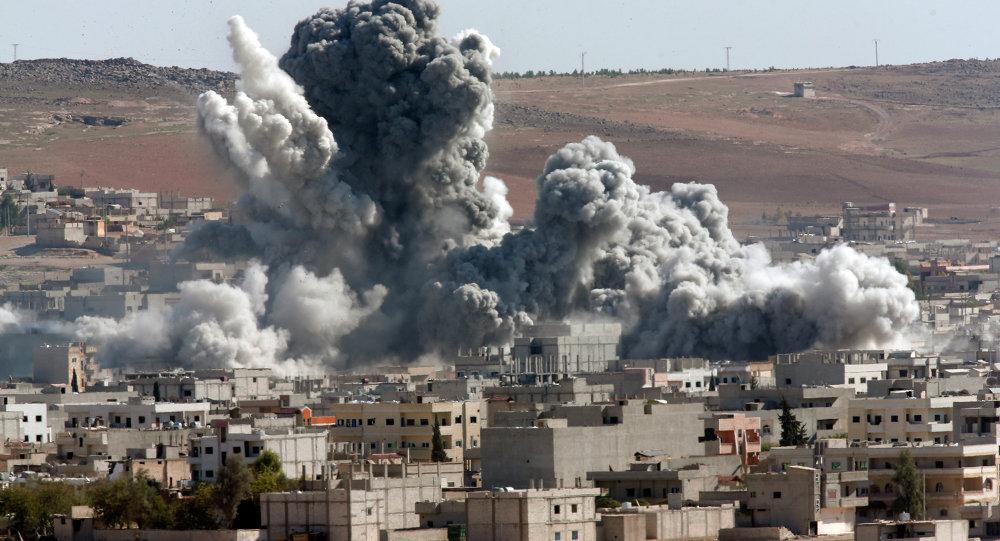 Bombardement de Kobané (Archives)