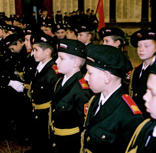 Cadets. Archive photo