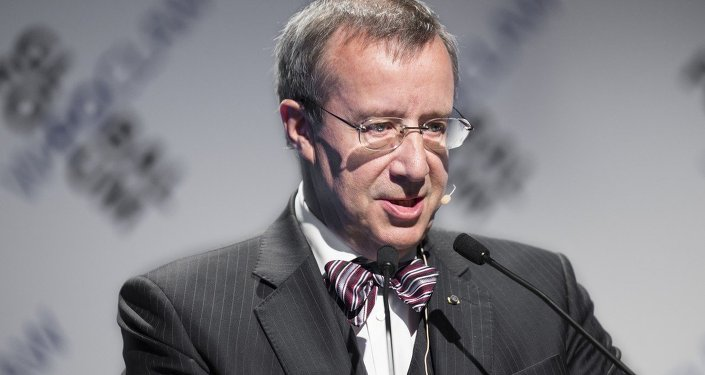 Toomas Hendrik Ilves. Archive photo