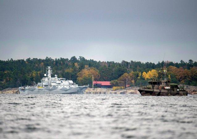 Bateau suédois HMS (G)
