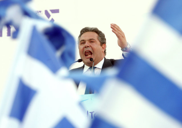 Panos Kammenos. Archive photo
