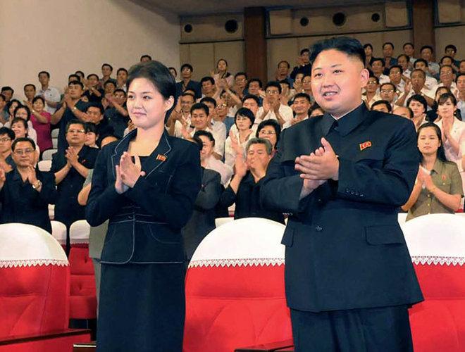Kim Jong-un et Ri Sol-ju
