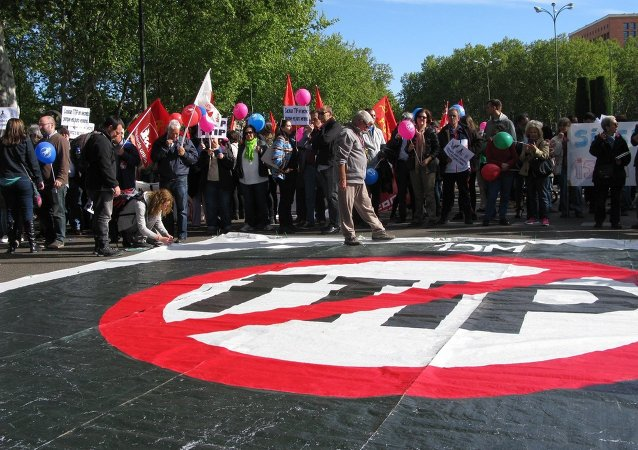 Protestation contre le TTIP