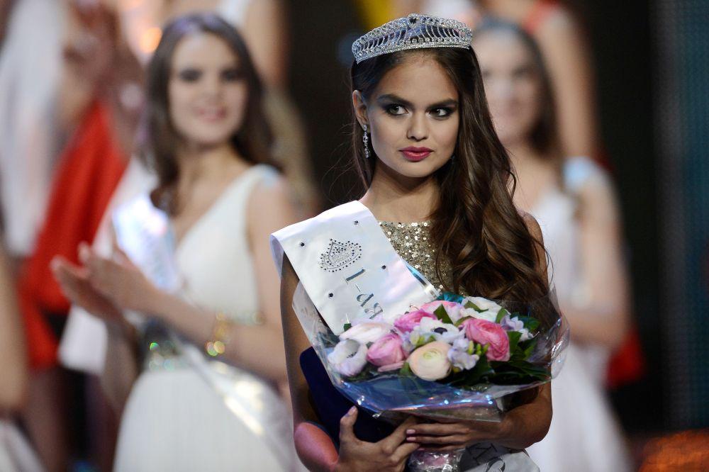 La première dauphine de Miss Russie, Vladislava Evtouchenko
