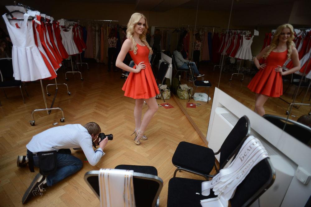 Kristina Odintsova de Saratov, finaliste du concours Miss Russie 2015