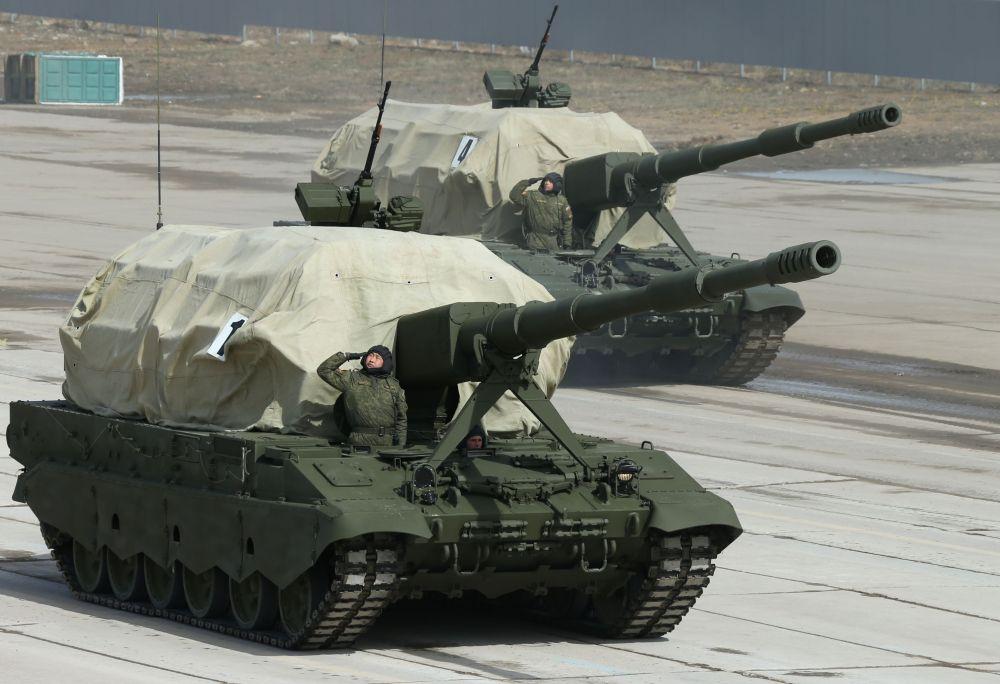 Un canon automoteur Koalitsia-SV
