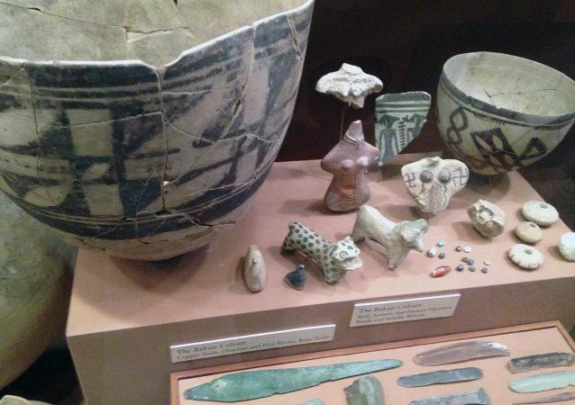 Artéfacts découverts à Chogha Mish