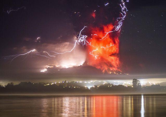 Eruption du volcan Calbuco