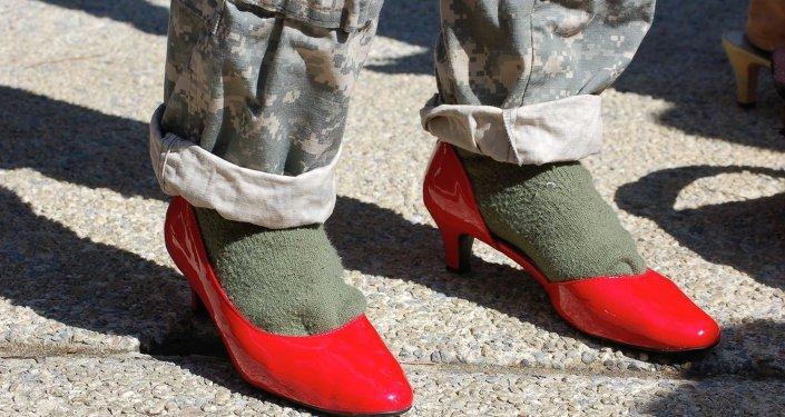Lors du Parcours d'un mille en chaussures de femme