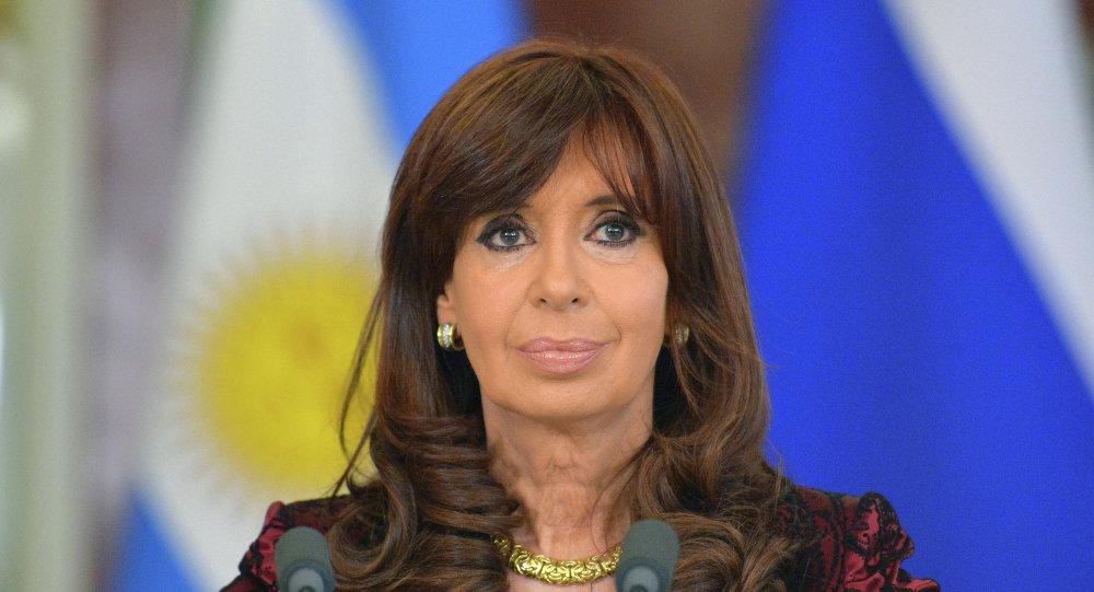 La présidente argentine Cristina Kirchner