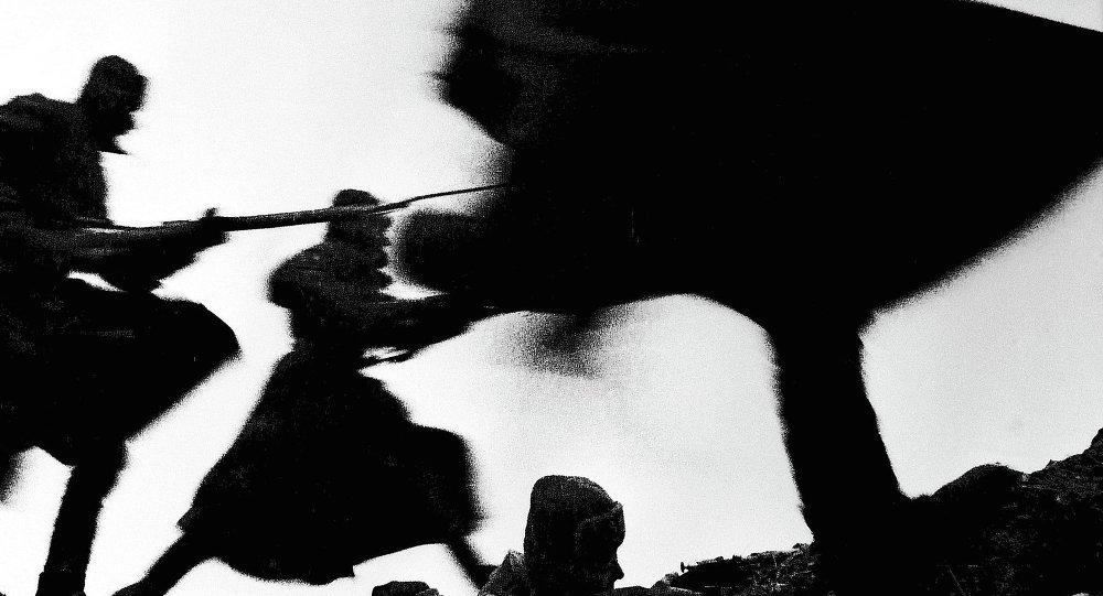 Soldats soviétiques pendant la Seconde Guerre mondiale