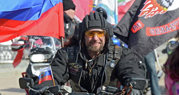 Le président du club Loups de la nuit Alexandre Zaldostanov