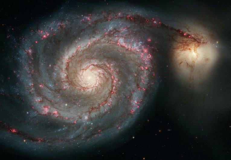 La galaxie du Tourbillon (M51)