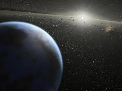 Un astéroïde passe près de la Terre