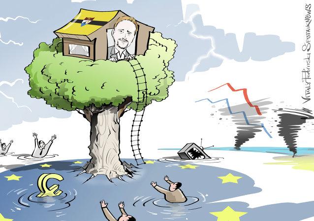 Une terre promise au milieu de l'Europe