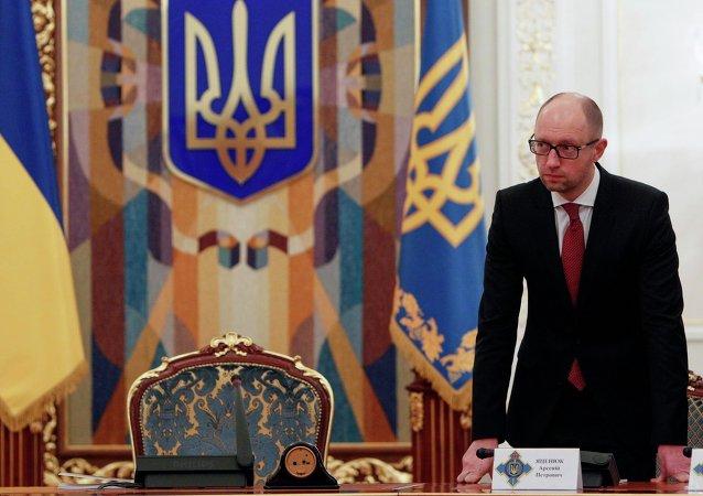 Le premier ministre ukrainien Arseni Iatseniouk