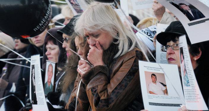 Manifestation commémorative à Odessa