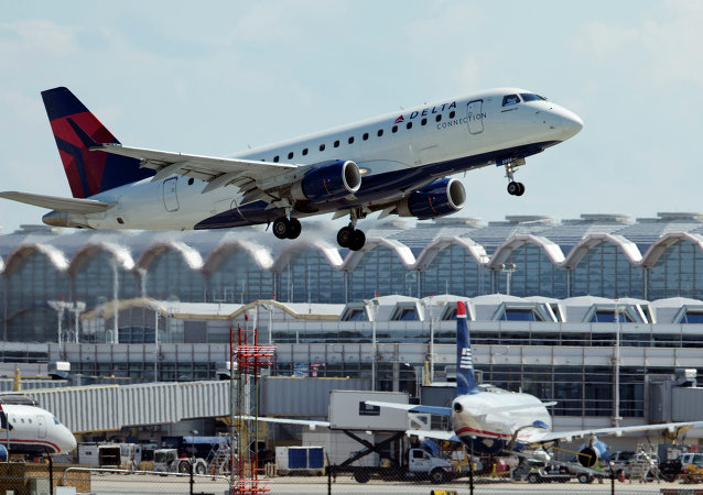 un avion de Delta Air Lines