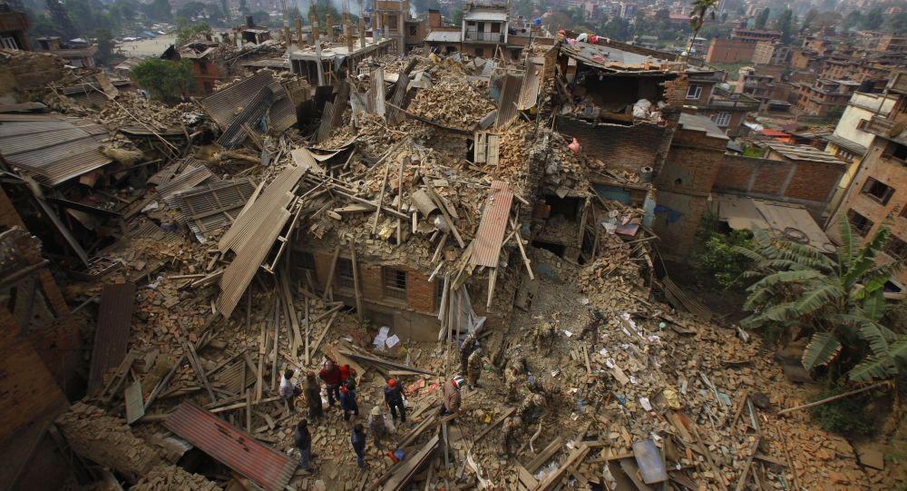 Le tremblement de terre