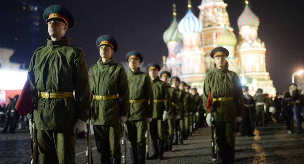 Répétition de la Parade de la Victoire à Moscou