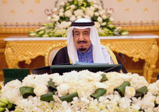 Le roi d'Arabie saoudite Salmane bel Abdelaziz Al Saoud