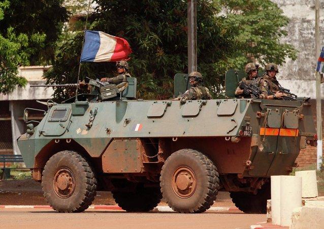 Soldats français à Bangui (Archives)