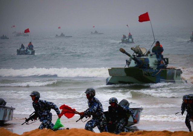 Exercices militaires russe-chinois