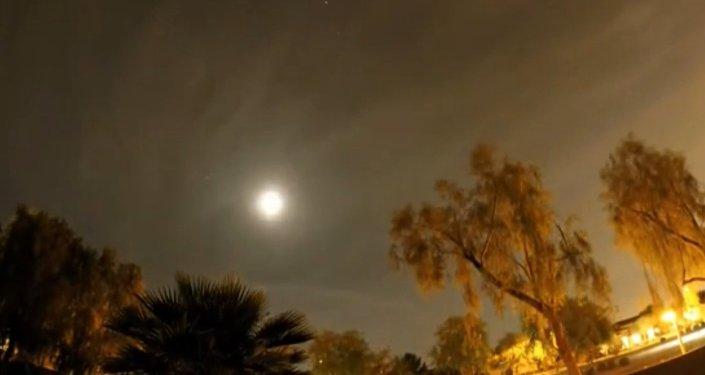 Une éclipse lunaire en Timelapse