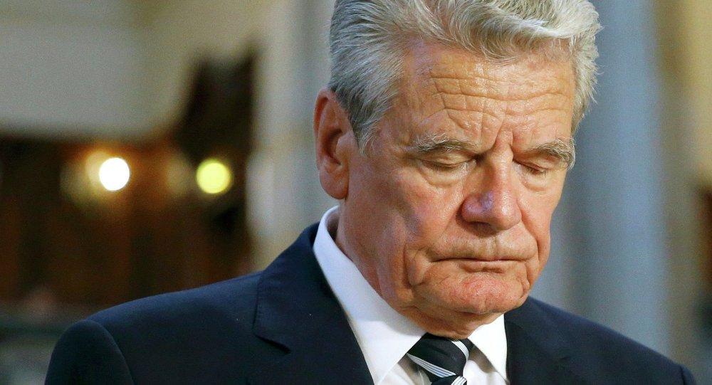 Joachim Gauck. Archive photo