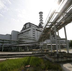 Le réacteur 4 de la centrale deTchernobyl