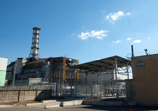Réacteur 4 de la centrale de Tchernobyl