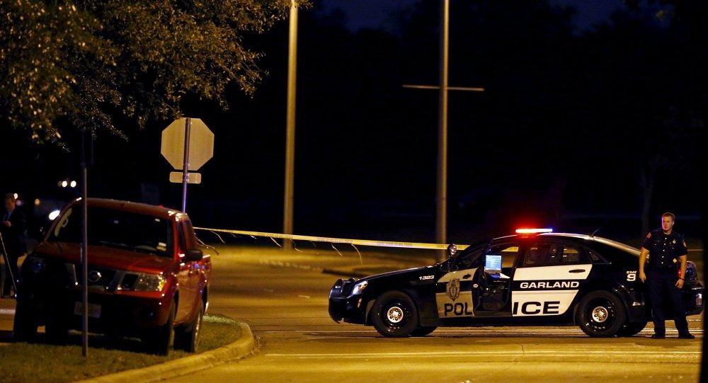 Police au Texas image d'illustration